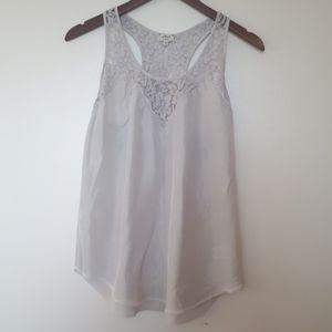 Wilfred Lace Racer back Tank ( XS)